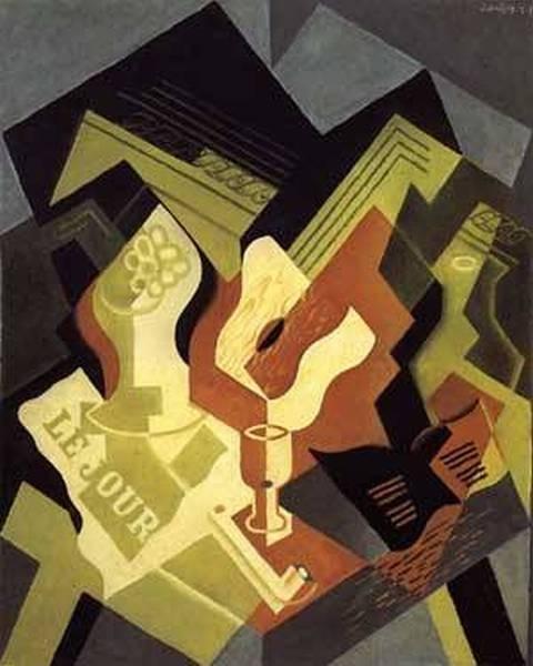 Guitar and Fruit Dish 1919